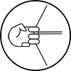 bow draw icon