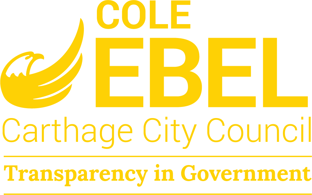 Cole Ebel for Carthage City Council