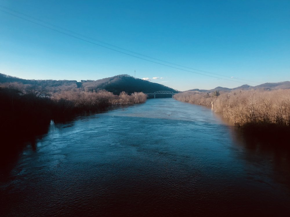 Cumberland River as seen from the Overpass