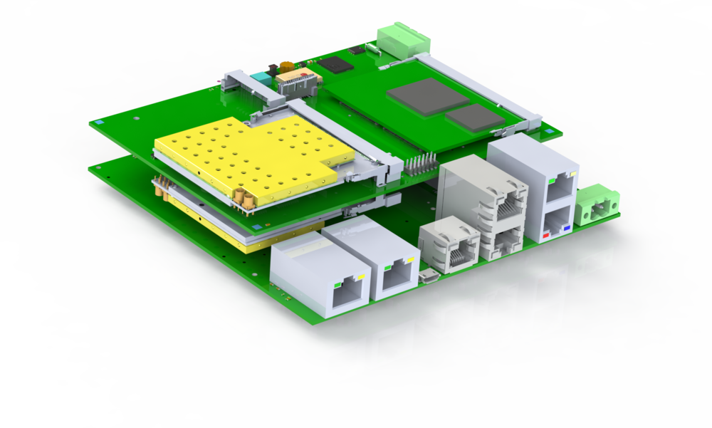 Printed Circuit Board set - We were provided a set of boards with a few configurations around which to build.
