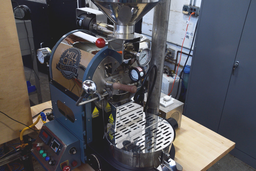 Roasting Equipment — CoRo