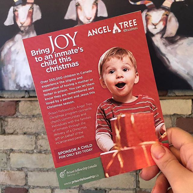 'Tis the season to give! Angel Tree will be in the house tmrw from 7pm-11pm. Come show your support and spread some holiday cheer! No donation too small - tax receipts issued 🎄#angeltree . . . #grazeatthegoat #toronto #the6ix #papevillage #danforth #eastyork #playter #iloveeastyork #espresso #food #eat #foodie #torontolife #cafe #coffee #goatcoffeeco #charity #holiday #kindness #hope #children @rockinlilone