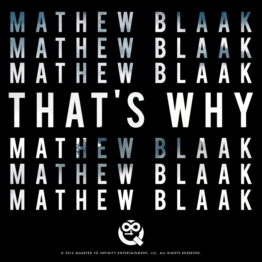 Mathew Blaak - Single Artwork