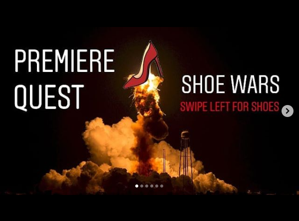 s5 e10 - shoe wars (battle #1) - This episode is the first in a series called 'shoe wars'. By the end of the series we'll have around 10 pairs of shoes for listeners to vote on. We'll buy the winning pair regardless of the result and wear them as much as possible on the houseboat.Head to our Instagram @premierequest to see the shoes. Comment or DM us your favorite.