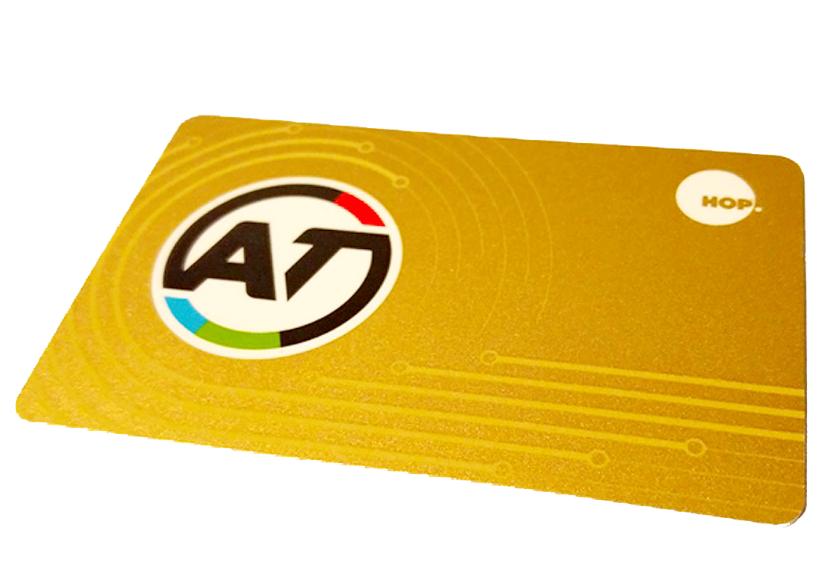 AT Hop Card - Gold