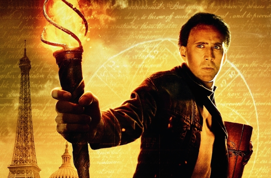 S5 E27 - National Treasure Film Review - This week we provide the world's greatest review of Nic Cage's cult classic film NATIONAL TREASURE.