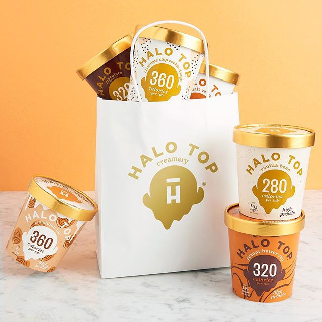 Vandaag nemen we ieder excuus om te gaan shoppen. • • • • #halotopcreamery #lowcalorie #highprotein #icecream #ijs #delicious #motivation #healthylifestyle #blackfriday