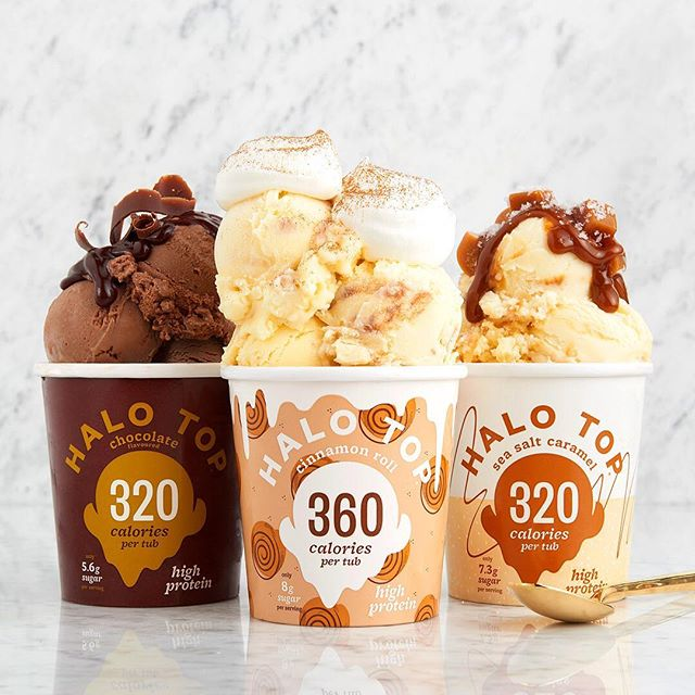 Wat een opscheppers 😉... • • • • #halotopcreamery #lowcalorie #highprotein #icecream #ijs #delicious #motivation #healthylifestyle #fitdutchies