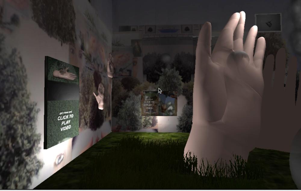 mSNOWE - Brand Launch  interactive digital installation screen capture.