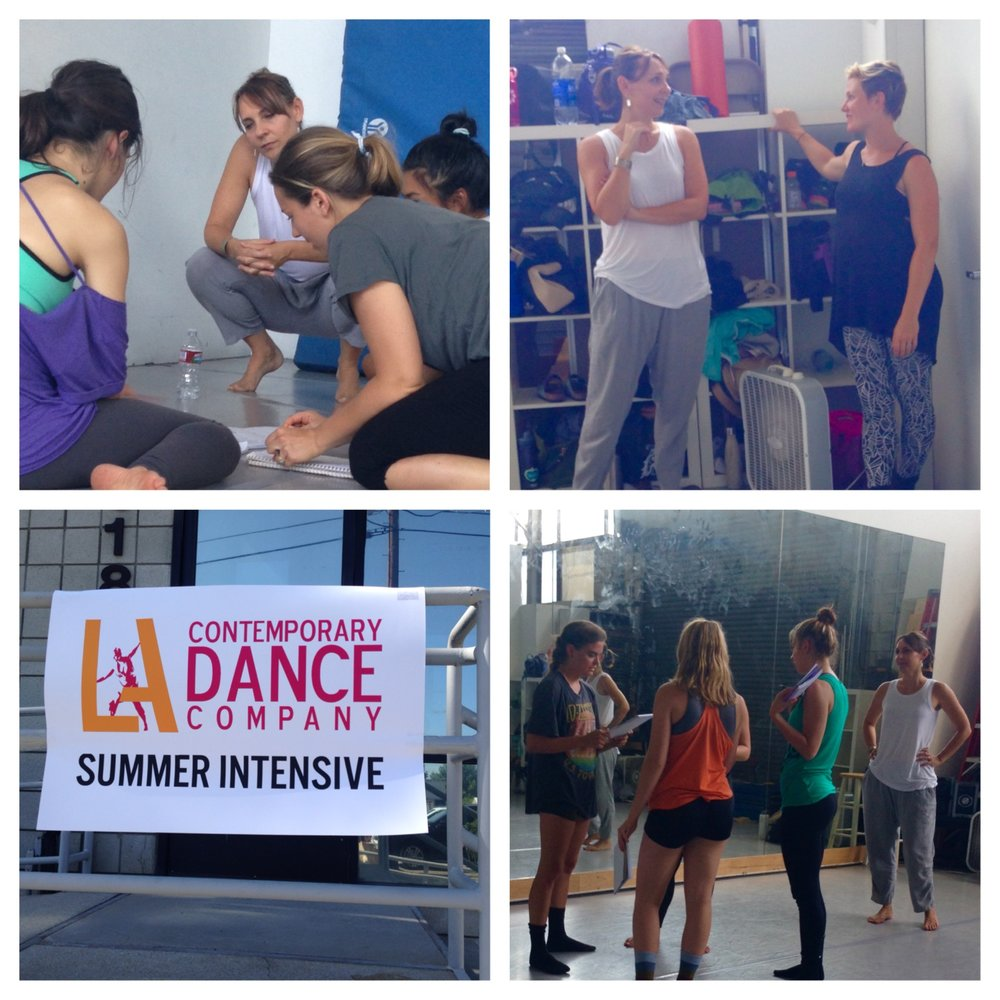 Arianne teaches Movement & Text at LACDC Summer Intensive