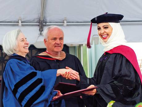 First Emirati woman graduates from Harvard Law School -GULF NEWS - Makeup by Yin