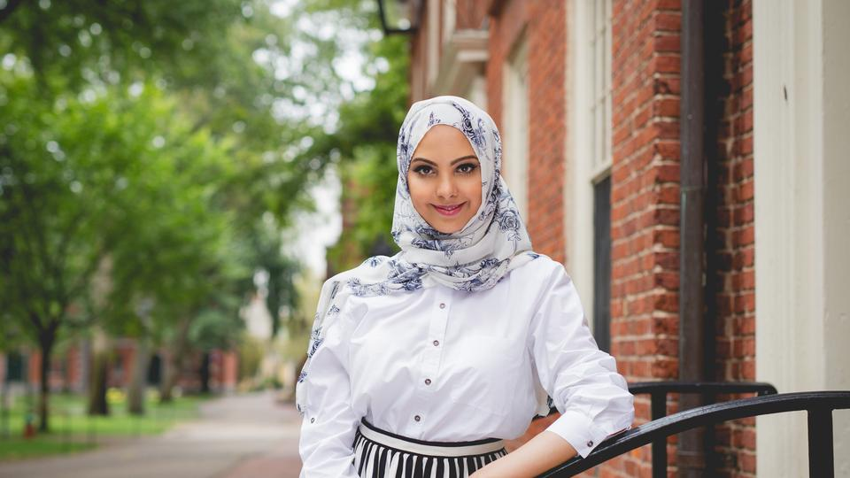 UAE Portrait of a Nation: First Emirati woman to join Harvard law school -The National - Makeup by Yin
