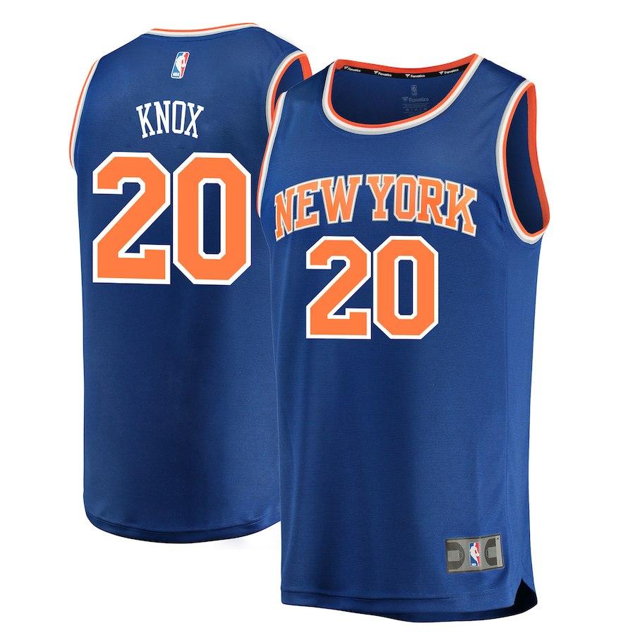 0e8de05a4 Kevin Knox Knicks (All Colors) — Jersey Cave