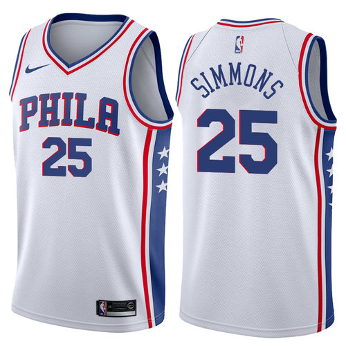 Ben Simmons 76ers (All Colors) — Jersey Cave ac95426ea