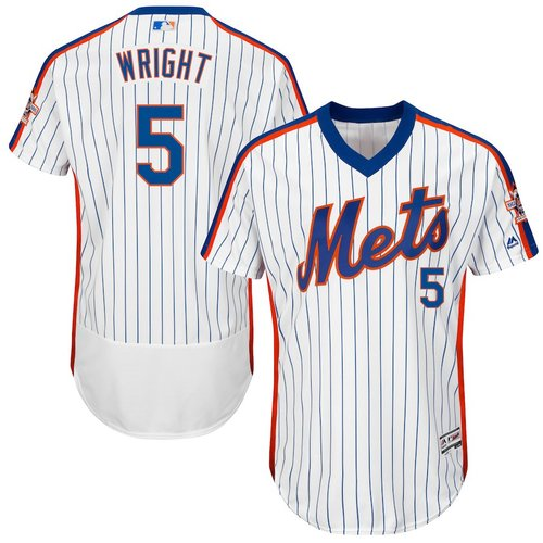 new product d76fe e3287 David Wright Mets Throwback (White)