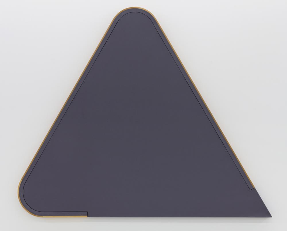 Dedi of Desnefru , 1976 acrylic on canvas, wood 89 x 73-1/2 x 3-1/2 inches