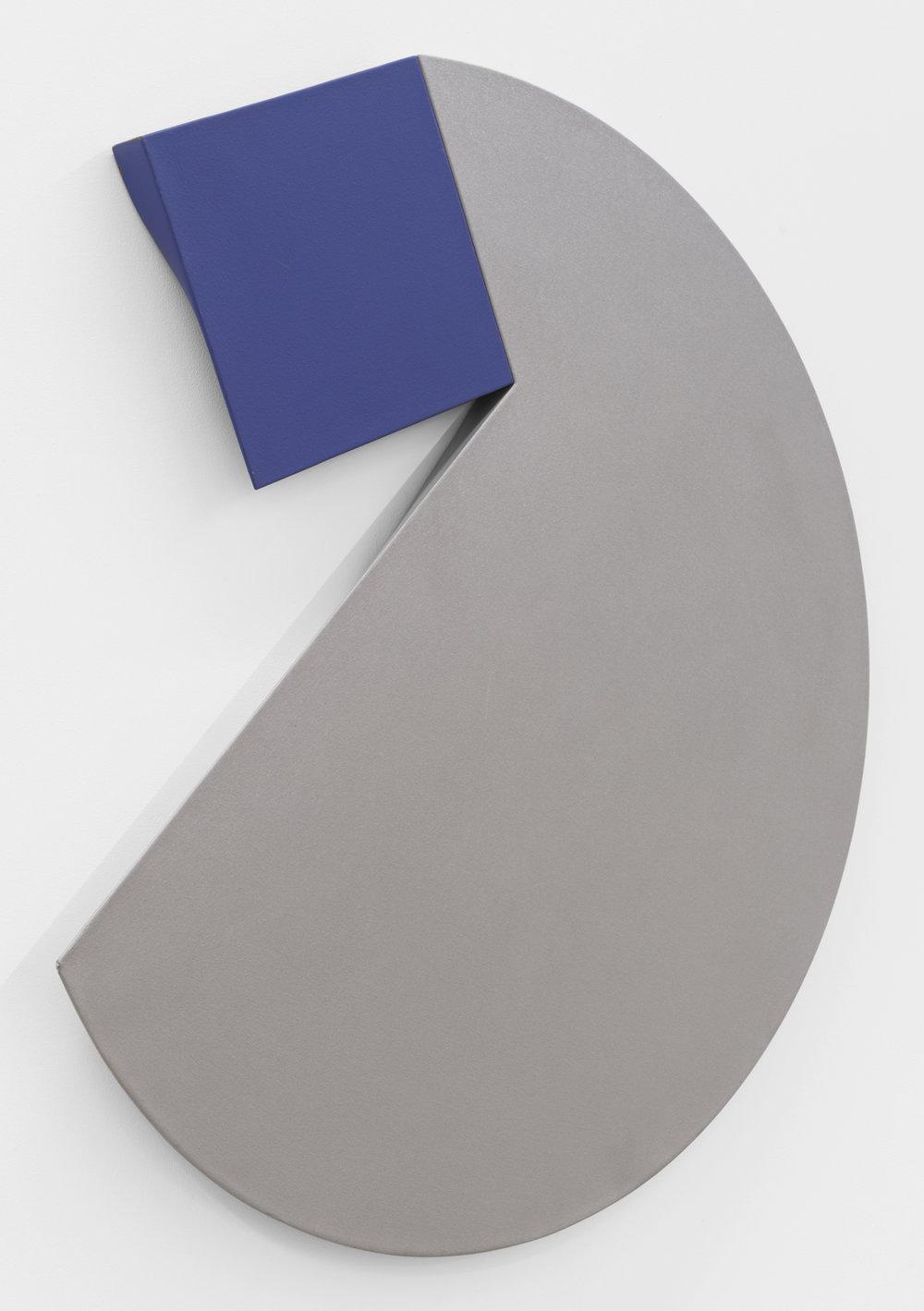 Affas Gaffas , 1979-1980 acrylic on canvas 48-1/2 x 50 x 2 inches