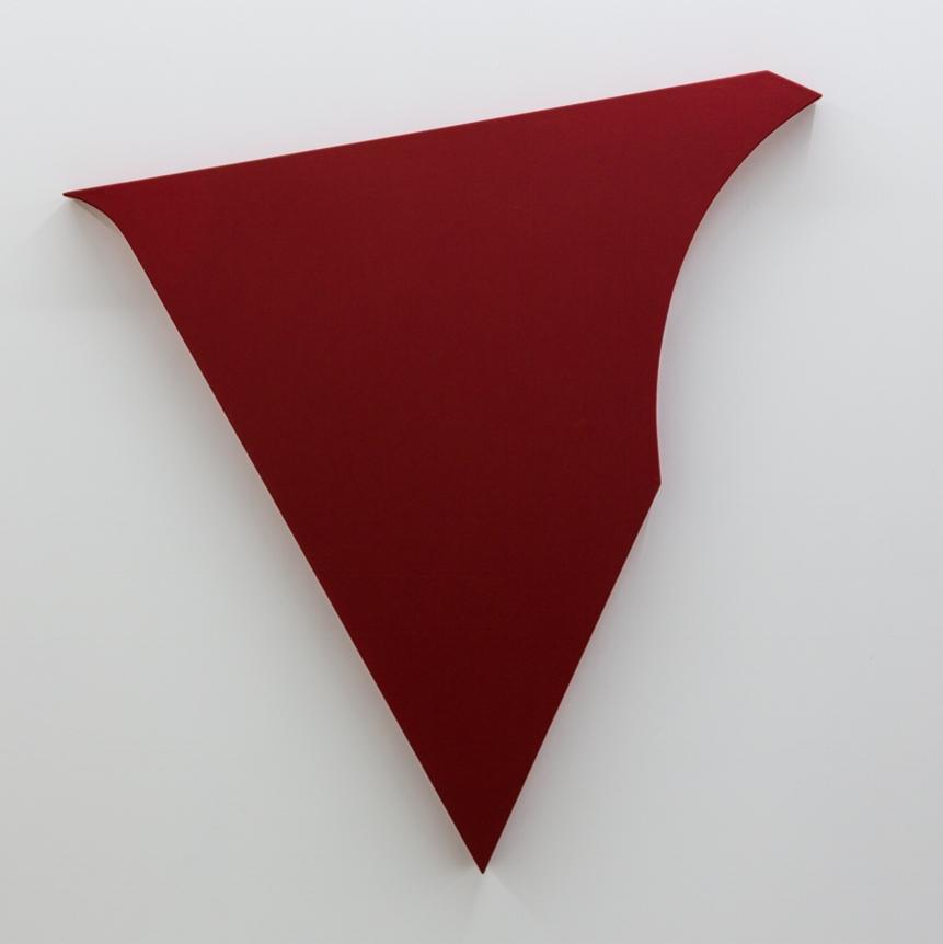 Shamus , 2004 acrylic on canvas, wood 60 x 57 x 3-1/2 inches