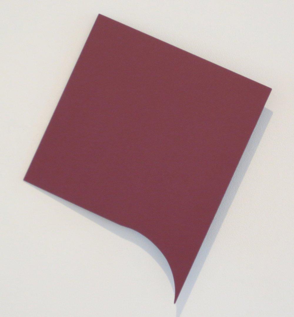Pseudo Memory , 2014 acrylic on aluminum 14-1/2 x 11-3/4 x 1-1/2 inches