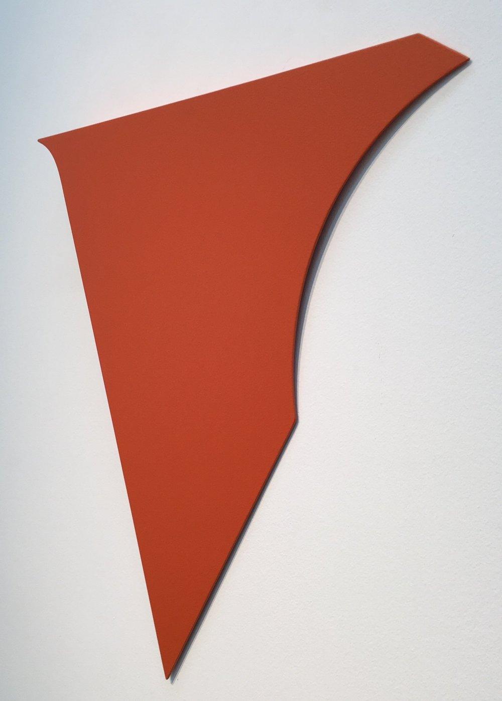 Albaka , 2003 acrylic on aluminum, wood