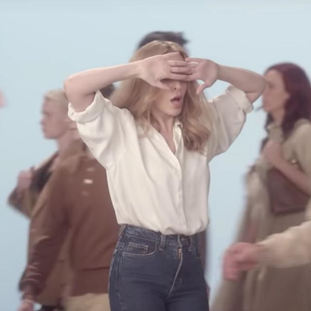 #inspo | Kylie Minogue 'I Was Gonna Cancel' 2014, directed by Dimitri Basil, choreographed by Rafael Bonachela I've always loved everything about this video, including the song.