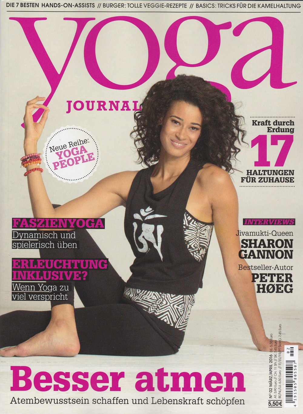 Yoga Journal, 2016