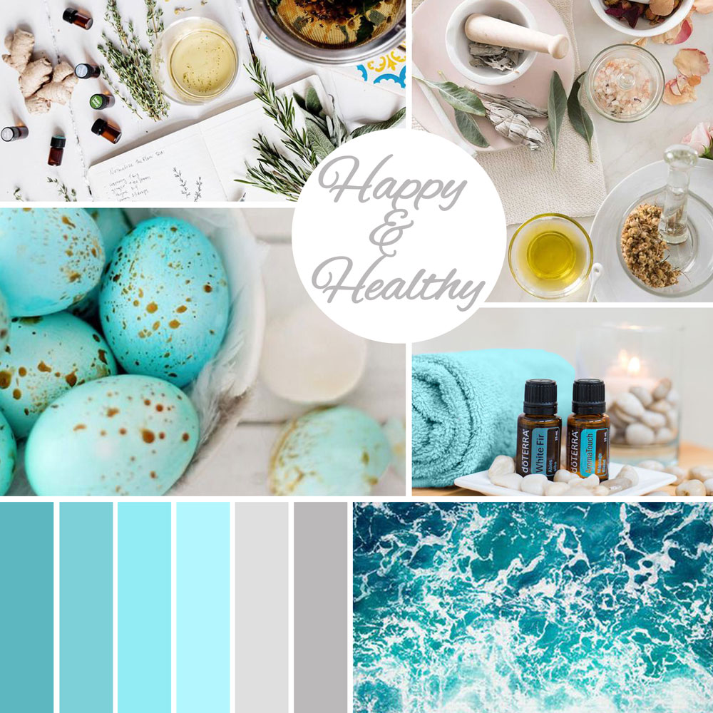 Pure Drop Essentials Mood Board. Created by Jessica Haines Design