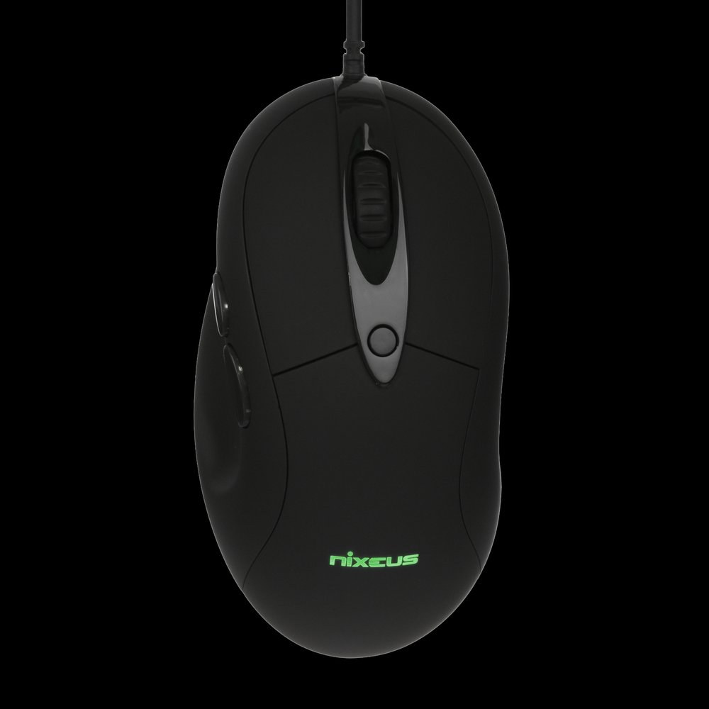 Nixeus REVEL FIT Gaming Mouse with PMW3360 Gaming Grade Sensor (Available in Rubberized Black)