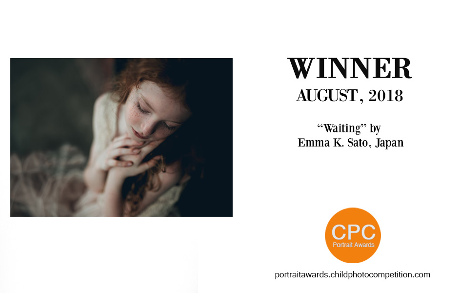 Winner, CPC Portrait Awards (international), August 2018