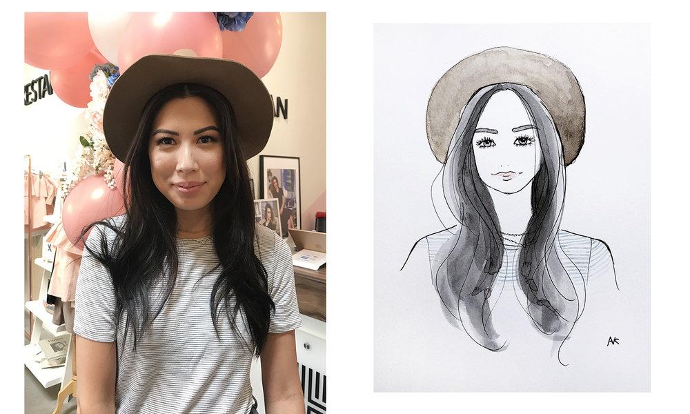 fashion live sketch artist