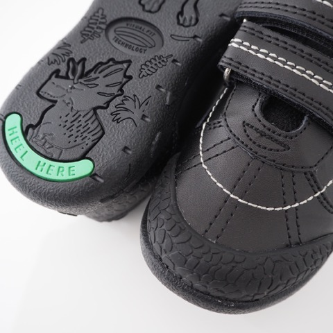Sturdy Rubber Toe Cap - To minimise toe scuffing and keeps your shoes good as new!