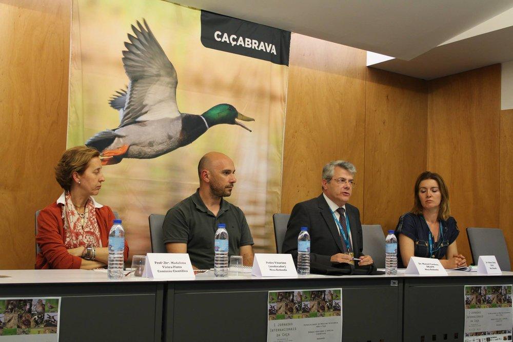 I jornadas Internacionais da Caça - Universidade de Trás-os-montes e Alto Douro.