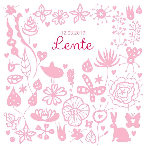 The pink garden -