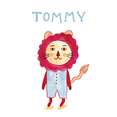 Lovely lion - jongen   meisje