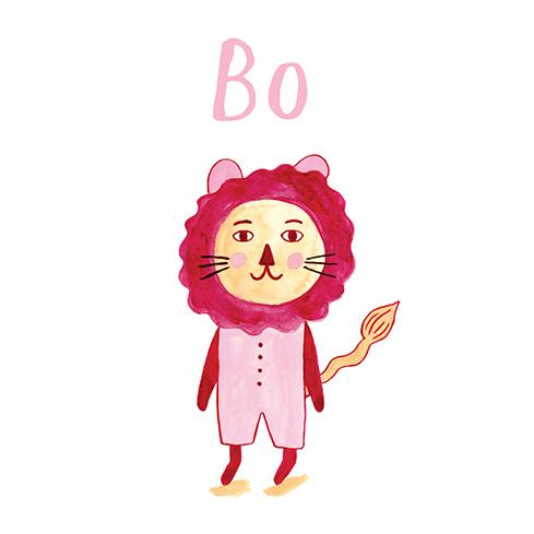 sweet lovely lion - meisje