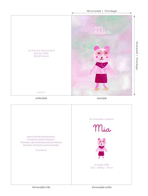 Geboortekaart meisje popje.com / marenthe.jpg