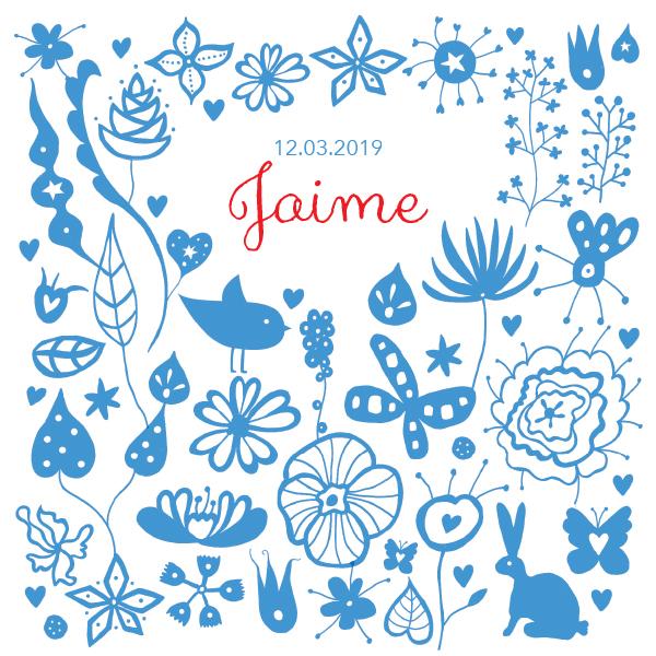 the blue garden - jongen | meisje