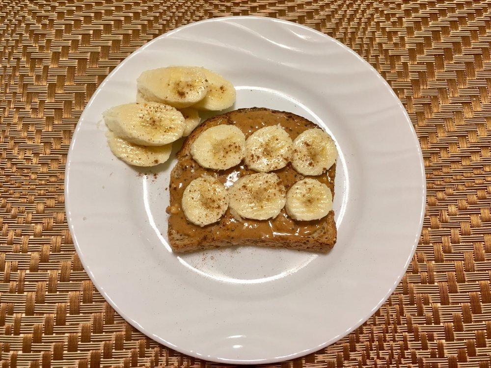 Nut Butter Banana Toast