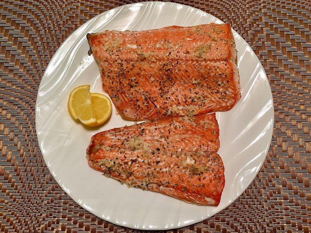 Simple Savory Wild Salmon
