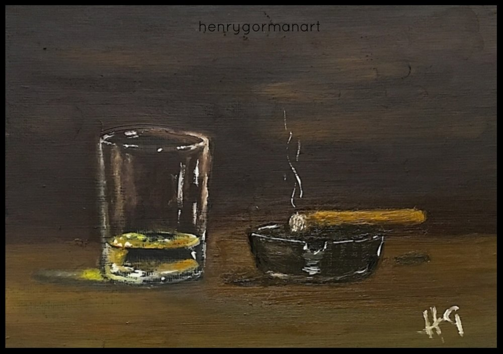 'A wee dram and a puff'
