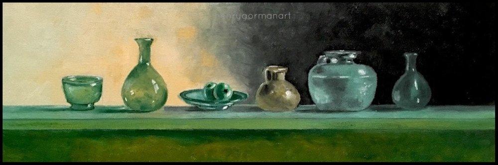 'Green Glassware'