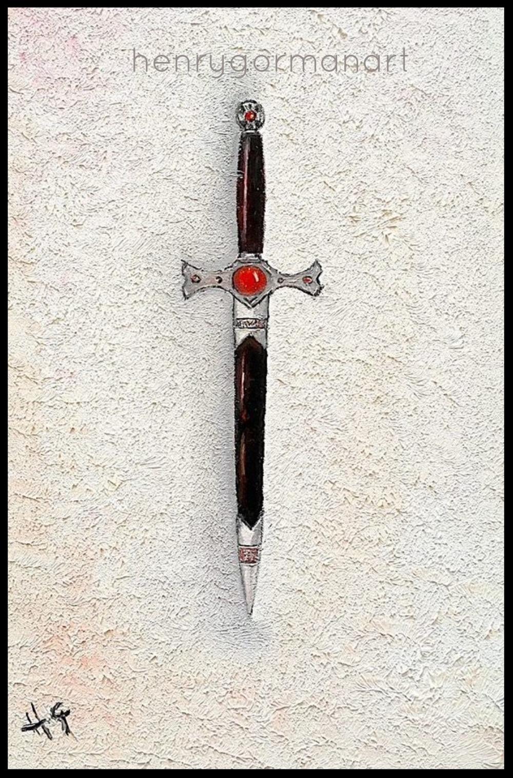 'Ruby dagger'