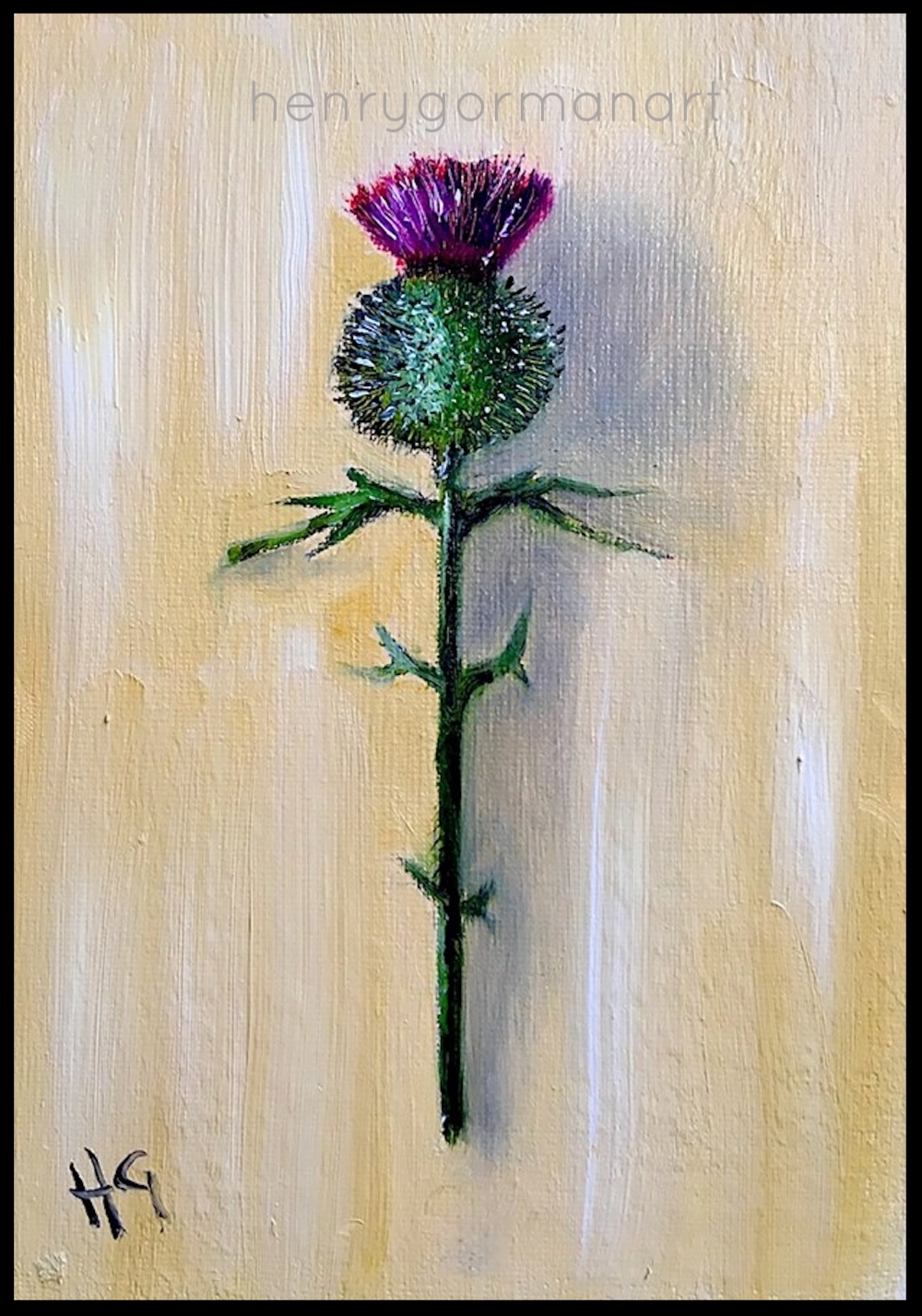 'Wee thistle # 2'