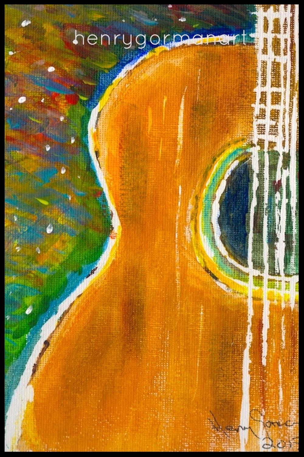 'Wee guitar'
