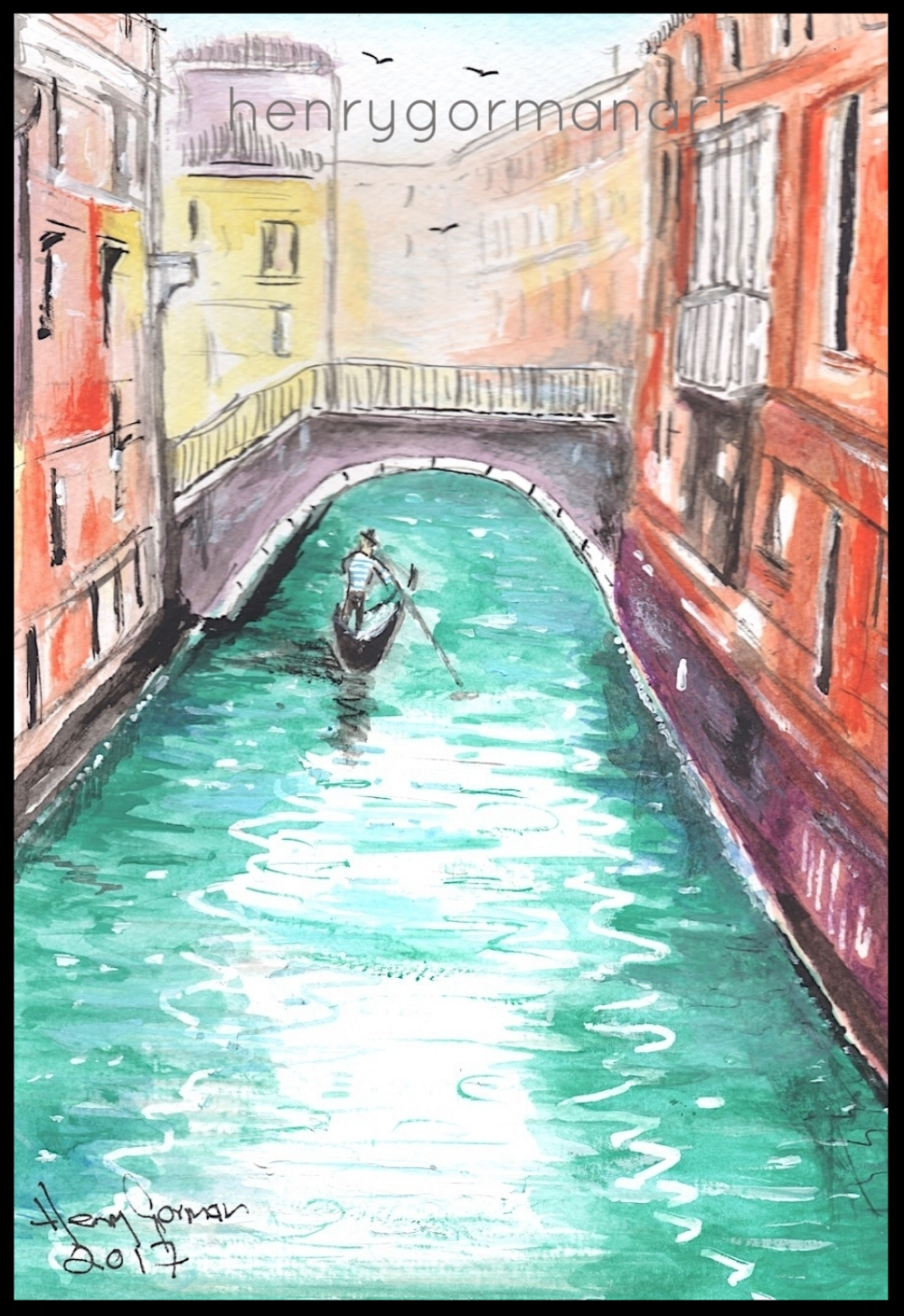 'The lonesome boatman'