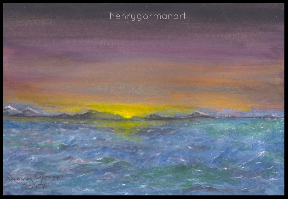 'Stormy Sunset'