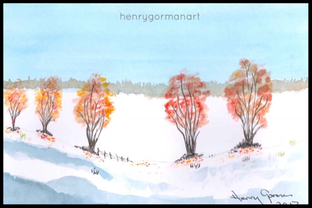 'Wee winter trees'