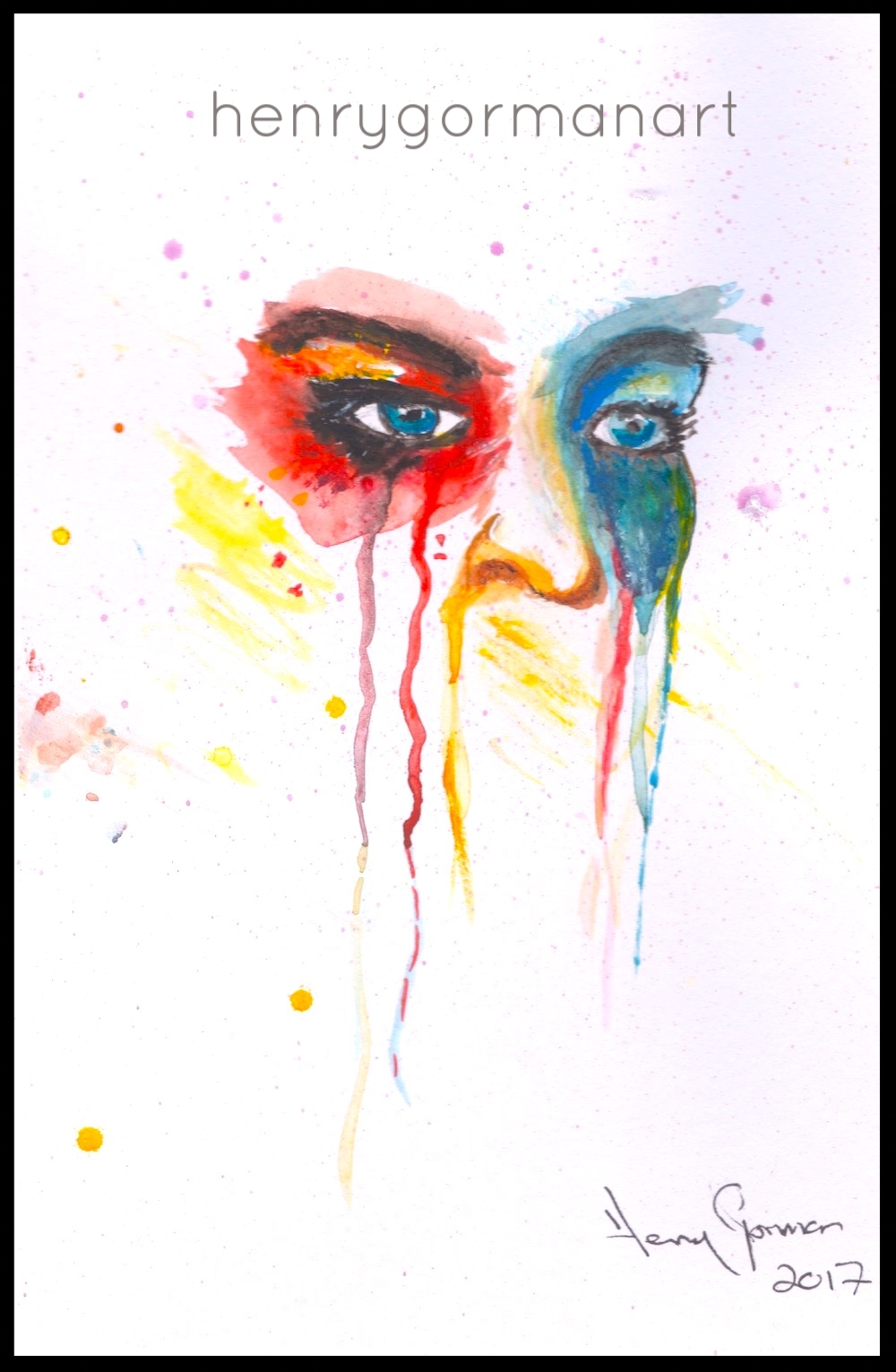 'Abstract tears'