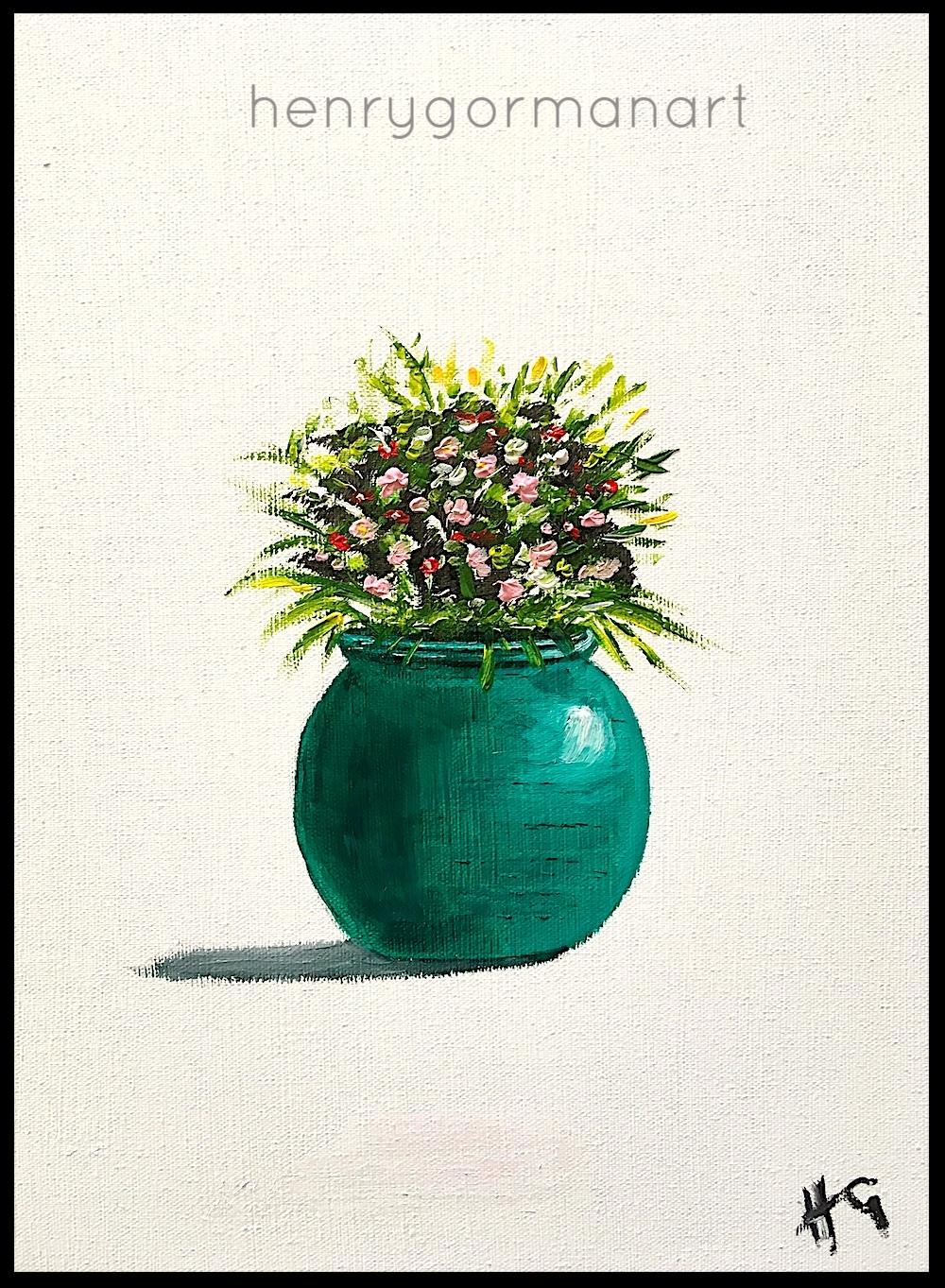 'Turquoise vase'