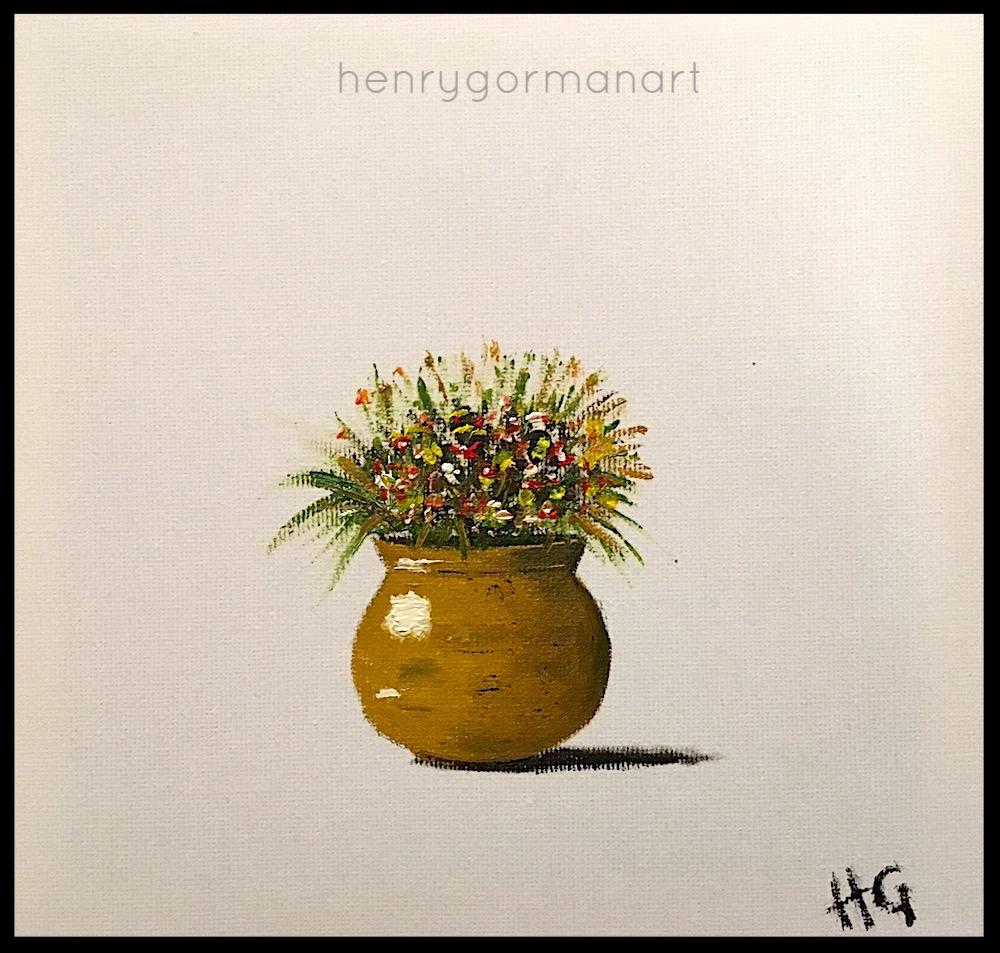 'Yellow ochre vase'